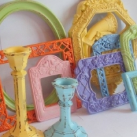 7 Home Decorating Tips on How to Reuse Old Picture Frames ...