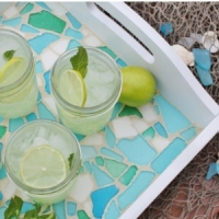 10 Sweet DIY Sea Glass Crafts ...
