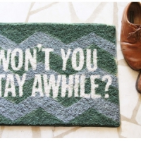 10 Darling DIY Doormats ...