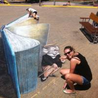 40 Stunning Examples of 3D Chalk Drawings ...