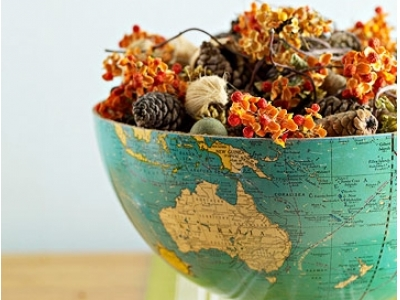 10 Great Ways to Upcycle Globes ...