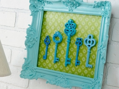 10 Stunning DIY Skeleton Key Home Decor Ideas ...