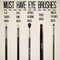 Lessons in Makeup: Eye Brushes 101 ...