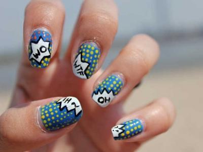 9 Examples of Pop-Culture Nail Art ...