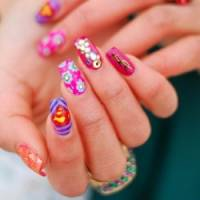 9 Pretty Pink Nail Designs You Will Fawn over ...