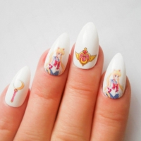 23 Really Cool Manga Nails for the Comic Book Lover in You ...