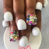 Check out This New Nail Trend: the Bubble Manicure ...