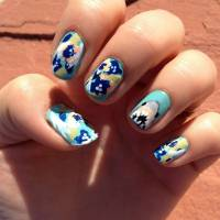 28 Really Cool Sea Creature Nail Art Patterns ...