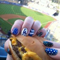 36 Sports Nail Art Ideas That Will Make You Ready for Game Time ...