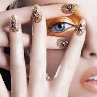 27 Awesome New Year's Eve Nail Art Designs to Help You Ring It in ...