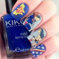 These Are the 31 Best Looking Superhero Nail Art Designs in the World ...
