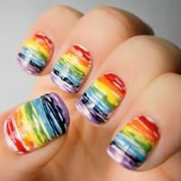 Rainbow Nail Art to Make You Smile ...