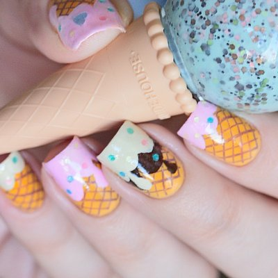 Girls Who Love Ice Cream 🍨Will Scream for These Delish Nail Colors💅 ...