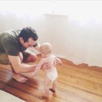 Dad Captures Baby's First Crawl, but What Happens after is the Cherry on Top to This Sweet Moment ...