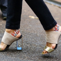 8 Summer Shoes with See-through Accents ...