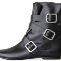 7 Buckle Boots ...