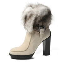 3 Hot White Tod's Boots and Booties ...