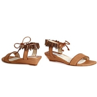9 Chic Brown Brian Atwood Flats ...