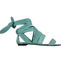 3 Glamorous Green Pierre Hardy Flats ...