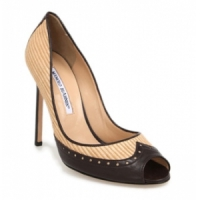 6 Chic Black Manolo Blahnik High Heels ...