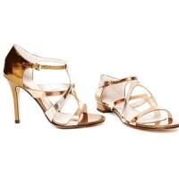 4 Fabulous Metallic Michael Kors High Heels ...