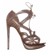 6 Hot Taupe Nicholas Kirkwood High Heels ...