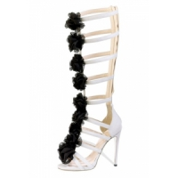 4 Stylish White Arfango High Heels ...
