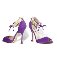 9 Chic White Brian Atwood High Heels ...