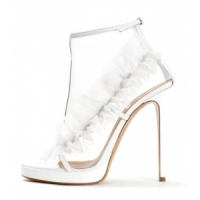 14 Beautiful White Viktor & Rolf High Heels ...