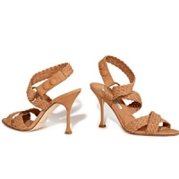 4 Beautiful Brown Brian Atwood Mid-heels ...