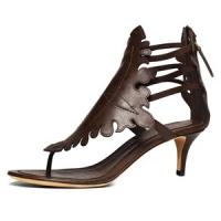 3 Hot Brown Donna Karan Mid-heels ...