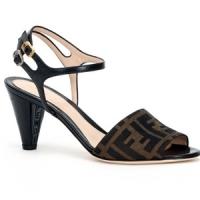 5 Glamorous Brown Fendi Mid-heels ...
