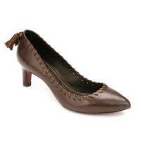 3 Hot Brown Maloles Mid-heels ...