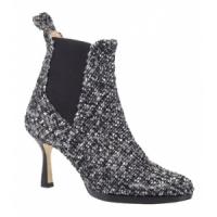 4 Fabulous Gray Oscar De La Renta Mid-heels ...