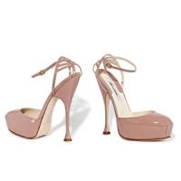 6 Glamorous Beige Brian Atwood Platform Shoes ...