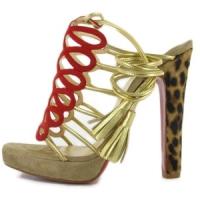 3 Hot Beige Christian Louboutin Platform Shoes ...