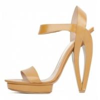 3 Fabulous Beige Emporio Armani Platform Shoes ...