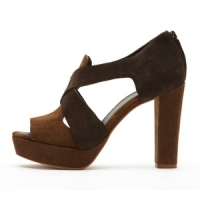 8 Hot Brown Tila March Platform Shoes ...