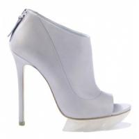 3 Glamorous White Camilla Skovgaard Platform Shoes ...