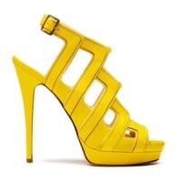 7 Hot Yellow Burak Uyan Platform Shoes ...