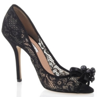 8 Fabulous Black Oscar De La Renta Pump Shoes ...