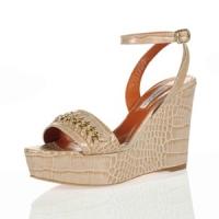 10 Fabulous Beige Oscar De La Renta Sandals ...