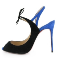 4 Beautiful Blue Christian Louboutin Sandals ...