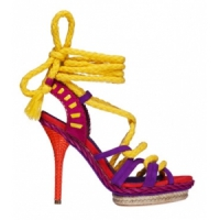 3 Gorgeous Fuchsia Christian Dior Sandals ...