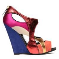 4 Stylish Fuchsia Diego Dolcini Sandals ...