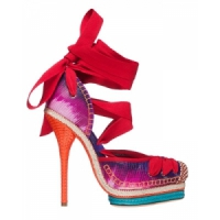 3 Beautiful Red Christian Dior Sandals ...