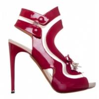 3 Glamorous Red Nicholas Kirkwood Sandals ...