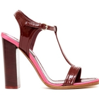 6 Chic Red Nina Ricci Sandals ...