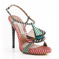 3 Gorgeous Red Tabitha Simmons Sandals ...