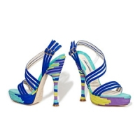 4 Glamorous Yellow Brian Atwood Sandals ...